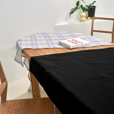 블랭크 블랙 롱커튼 / 암막 커튼 (RM 297001)