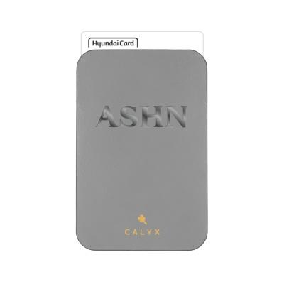 캘릭스 스마트폰 부착형 각인 카드포켓 (기본폰트)