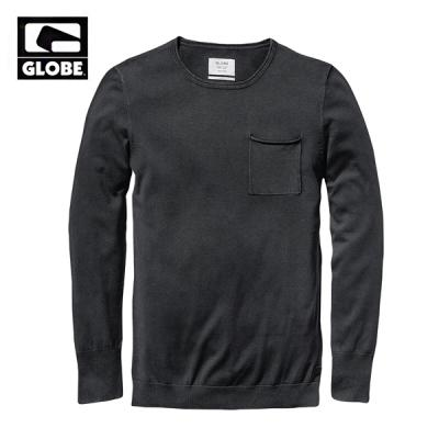[GLOBE] GOODSTOCK CREW SWEATER (BLACK)