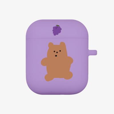 grape gummy 에어팟 케이스 [purple]