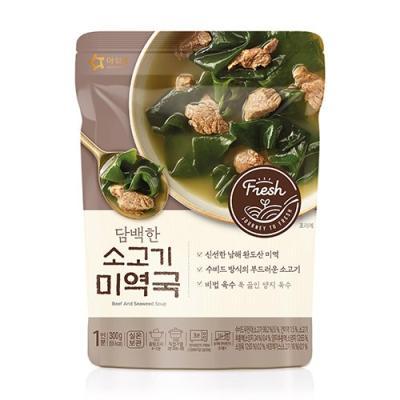 [아워홈] 담백한 소고기 미역국(300g)