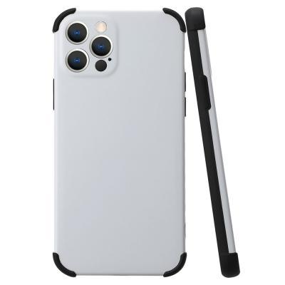 P577 아이폰12프로맥스 심플 범퍼 라인 젤리 케이스