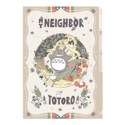 [이웃집 토토로] 레트로 3단클리어파일(대토토로)
