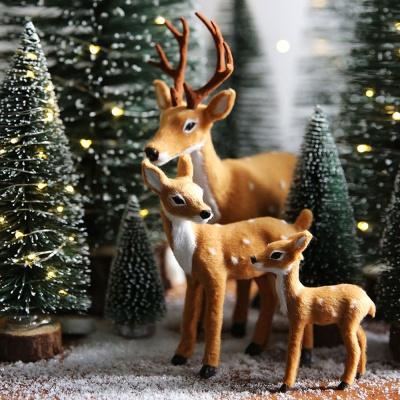 크리스마스 장식 소품 사슴가족