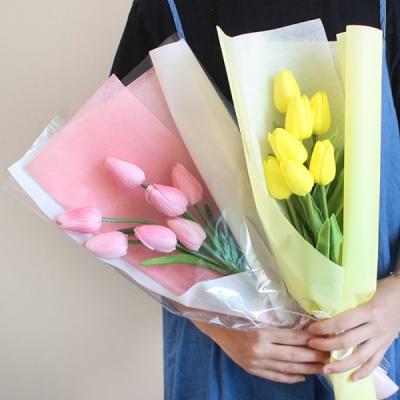 갓샵 망고 튤립 조화 꽃다발 2color 조화다발 기념일