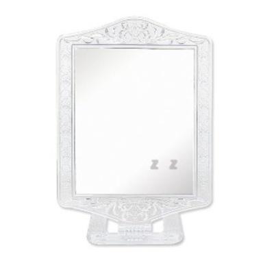 사각 스탠드 투명경 탁상거울 대 메이크업 화장거울