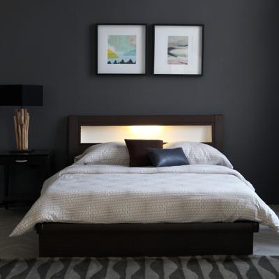 [보루네오 하우스] 아르메 무드 LED 침대 Q_밸런스 독립매트