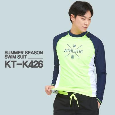 쿠기 남성 래쉬가드 상의 단품 KT-K426