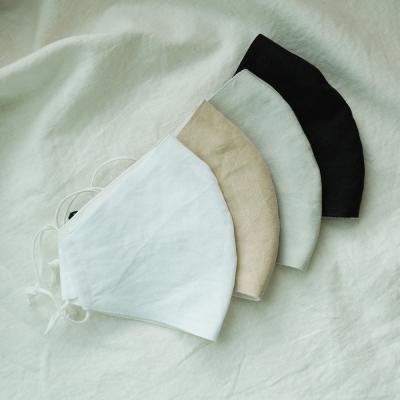 여름용 린넨 면 얇은 마스크 4color 시원한 천마스크