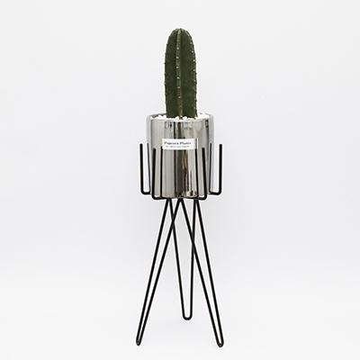 B. 육각 화분 스탠드(L)-14.5(지름) x 40cm