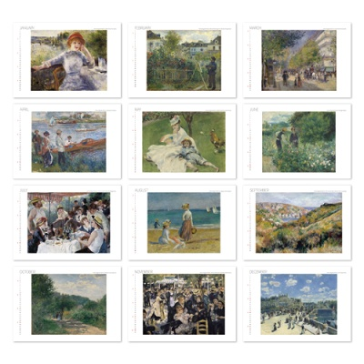 [2021 명화 캘린더] Auguste Renoir 르누아르 Type A