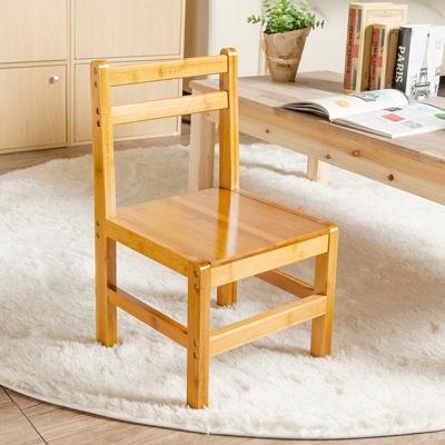 대나무 등받이 원목의자 인테리어용 아동용 나무의자