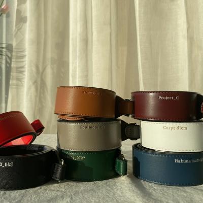 [이니셜 커스텀] Leather strap _ 11color