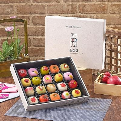 [뜨레쭈레] 전통수제 화과자,화과정 연꽃