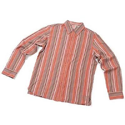[eS] SONOMA BUTTON-UP L/S SHIRTS (Brown)