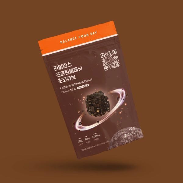 다이어트 프로틴 초콜릿 간식 프로틴플래닛 초코큐브
