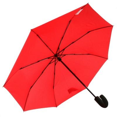 프리미엄 3단 자동 우산(양산겸용) - VG2311_11 (솔리드레드)