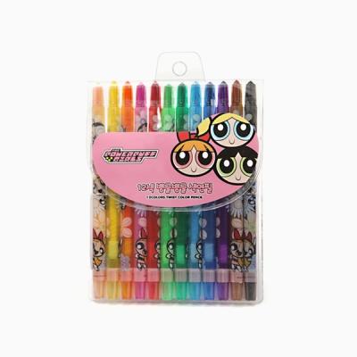 파워퍼프걸 색연필(12색)