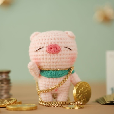 하비풀 아기돼지삼형제 인형 뜨개질 온라인 클래스  KT-K-0005