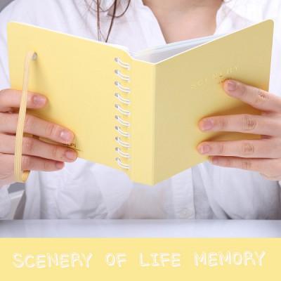 SCENERY OF LIFE MEMORY - 3x5 Photo Album ver.02 - 옐로우