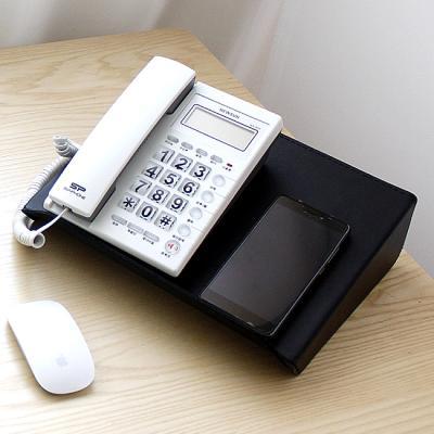 가죽 메탈 다용도 받침 전화기받침 태블릿스텐드