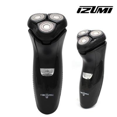 이즈미 IPX7 완전 방수 3중날 전기 면도기 IKR-2300