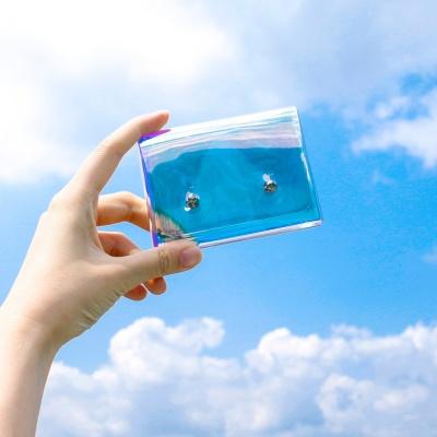 PVC 홀로그램 동전 카드 지갑 인싸 케이스 미니파우치
