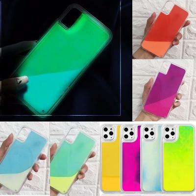 아이폰11pro max/프로 특이한 야광 하드 핸드폰케이스
