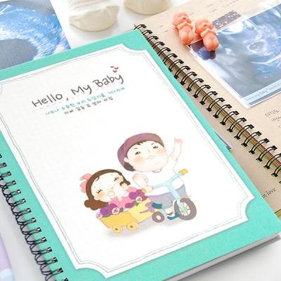 헬로우 마이 베이비-렛츠고 초음파앨범(임신다이어리)