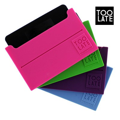 [TOOLATE] 이태리감성 핸드메이드 독특함과 유니크함을 표현했습니다. 실리콘 카드,명함전용지갑 [ TOOLATE CARD CASE ]