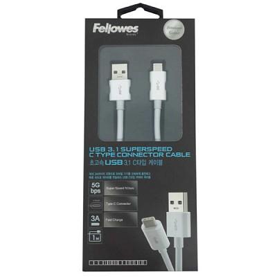 프리미엄 USB 3.1 C to A 타입 케이블 1m (99216)