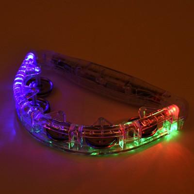 LED발광탬버린(투명)