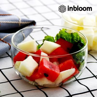 인블룸 다용도 내열 투명유리 샐러드그릇
