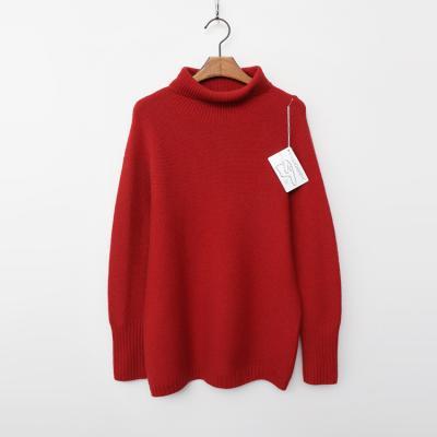 Laine Cashmere N Wool Grace Turtleneck Sweater