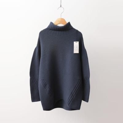 Laine Cashmere Wool Turtleneck Sweater