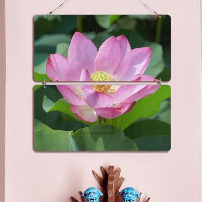nl513-멀티아크릴액자_영롱한연꽃(2단)