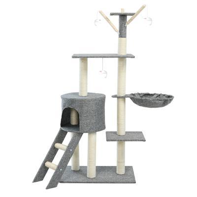 헬로망치 프리미엄 중형 고양이 직조 캣타워 GB383