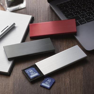 [엘레컴] SD & micro SD 메모리 카드 클립/케이스 L