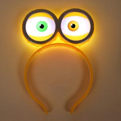 LED점등 왕눈알머리띠