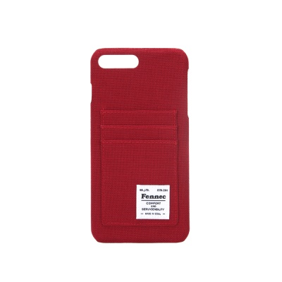 FENNEC C&S iPHONE 7+/8+ CASE - SMOKE RED