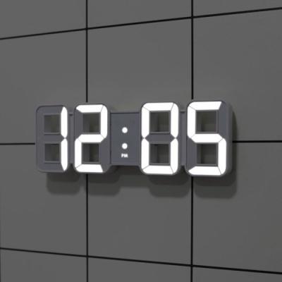 [무아스] 퓨어 미니 LED 벽시계 (2 color)
