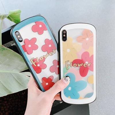 아이폰 플라워 패턴 디자인 하드 핸드폰 케이스 1468