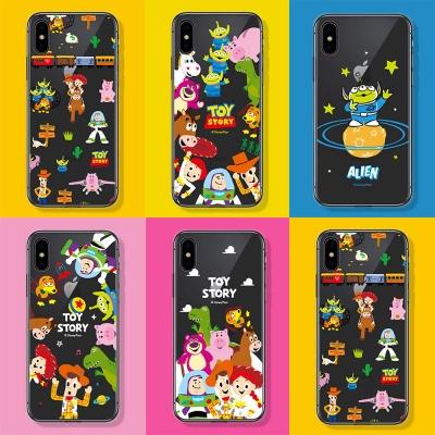 아이폰 12 미니 11 pro max 토이스토리 클리어 케이스