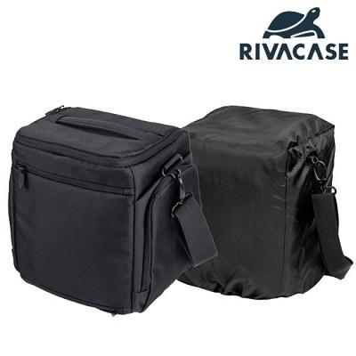 SLR 카메라 가방 RIVACASE 7230 (태블릿PC 수납 공간 / 분리형 패드 / 레인 커버 / 양쪽 포켓)