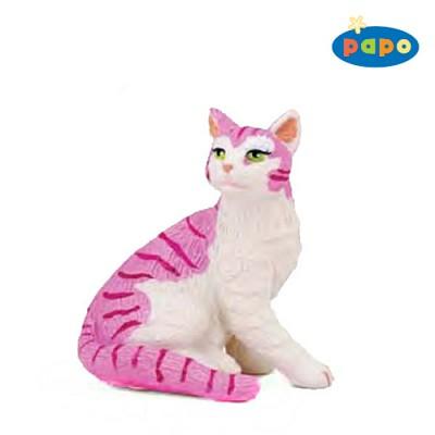 [papo]핑크 수고양이