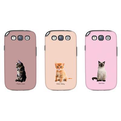 [듀얼케이스] Baby Cats (갤럭시S3)