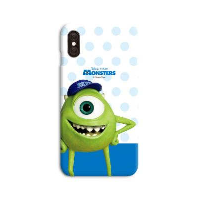 디즈니 몬스터주식회사도트 스마트폰 하드케이스 블루