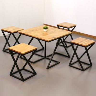심플라인plus 참죽 원목 테이블 의자 세트 660