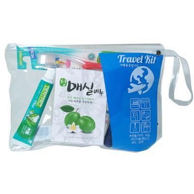 트리사 여행용칫솔 플러스치약 치실 비누 면도기 6082