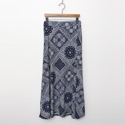 Cool A-Line Long Skirt